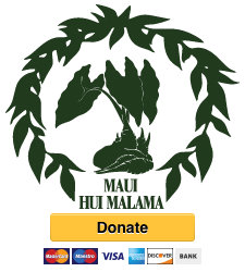 MHM logo with PayPal donation button