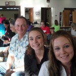 Kianna and Karli with BOD Scott Obley-Pukalani Community Mtg.