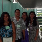 'Ohia Award winners Eala Kamai and Nohea Chartrand