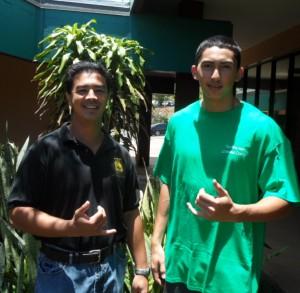 Joshua Arquero and Kaikala